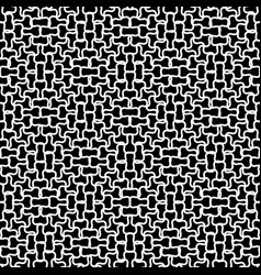 Repeatable grid mesh background pattern vector