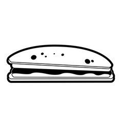 Sandwich food icon image vector