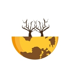 Save planet earth ecology icon graphic vector