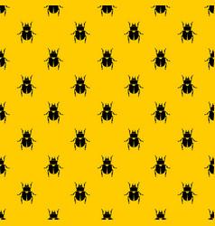 scarab pattern vector image