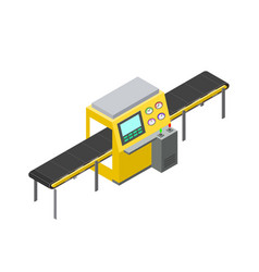 screen and mechanization vector image