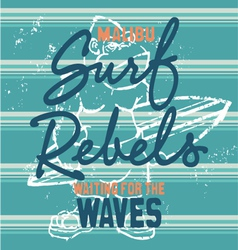 Surf rebels vector
