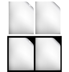 White papers vector