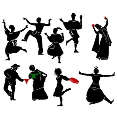 Ethnic Dance vector image vector image