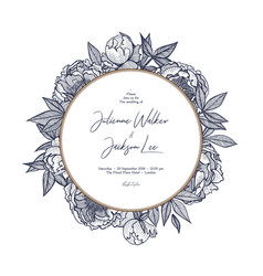 Design templates for wedding invitations save the vector