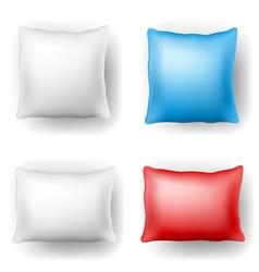 Pillow set vector image vector image
