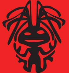 Alien Clipart Design Design vector image