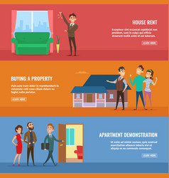 business concept set real estate vector image