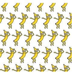 banana party vector image vector image