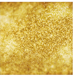 abstract golden glitter background vector image