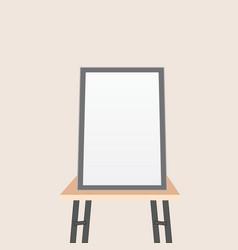 artwork presentation vector image