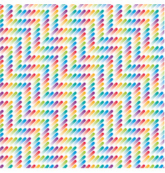 Colorful strokes seamless pattern vector