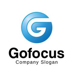 Gofocus Logo Design vector