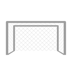 mesh football graphic vector image