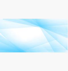 pastel blue banner design vector image