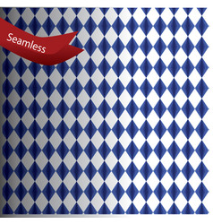 pattern with rhombus geometric texture vector image