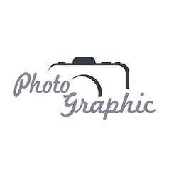 Photography theme template vector