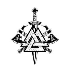 Skull sword 2021 0003 vector