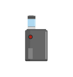 vaping box icon flat style vector image