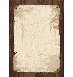Vintage parchment template vector