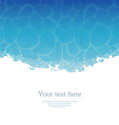 water pic vector image