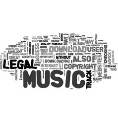 where to find free music download text word cloud vector image vector image