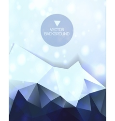 Abstract background abstract mountain vector image