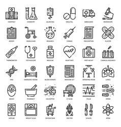 medical icon vector image