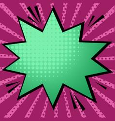 pop art style 4 vector image