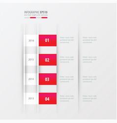 timeline design design pink gradient color vector image