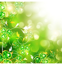StPatrick holiday background vector image vector image