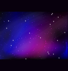 abstract starry night sky design vector image