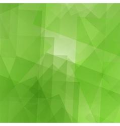 Geometric Green Pattern vector