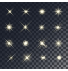 Lighting effects vector