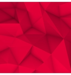 Magenta abstract polygonal background vector