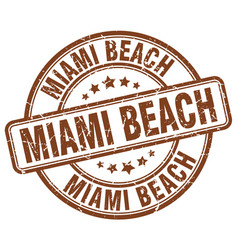 Miami beach vector