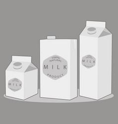 the milk vector image