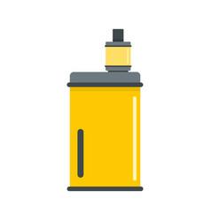 Vape mod icon flat style vector