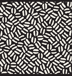 Seamless freehand pattern abstract rough vector