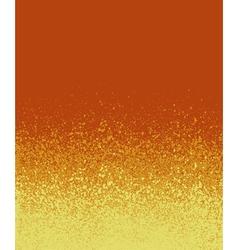 Graffiti spray painted orange yellow gradient vector