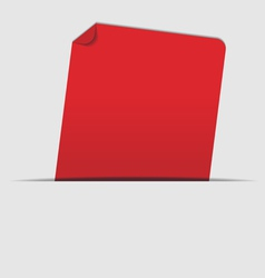 red label vector image