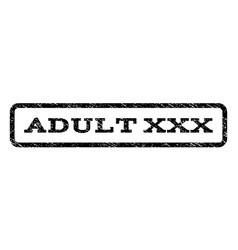 Adult xxx watermark stamp vector