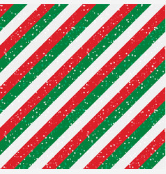 Christmas diagonal striped red and green lines vector