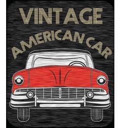 classic garage american vector image
