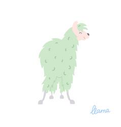 llama vector image