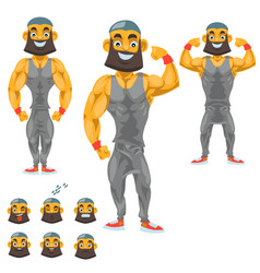 Man character for your scenes funny cartoon vector