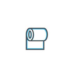 Paper roll icon design stationery icon design vector