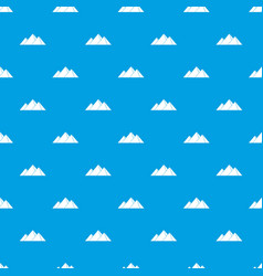 Pyramids in giza pattern seamless blue vector
