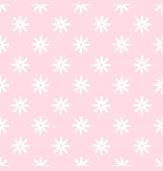 flower stitches seamless pattern geometric vector image vector image