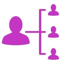Patient relations icon vector
